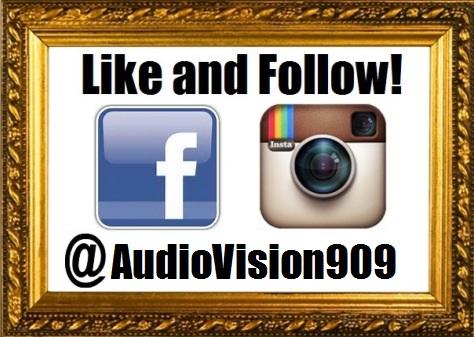 Social Media - Follow Us - Audio Vision