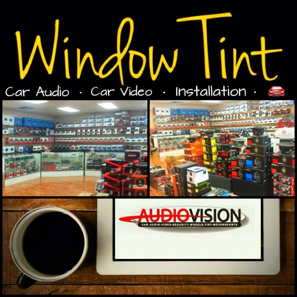 audio vision window tint
