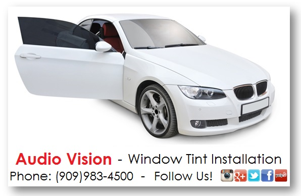 window tint - audio vision